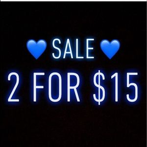 Other - 💙 2 Blue Hearts = $ 15.00 Sale 💙
